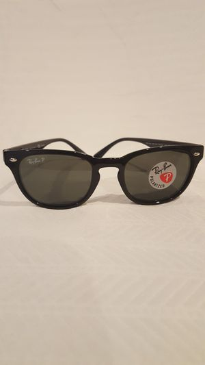 $183 Ray-Ban Wayfarer Rb4140 Black Polarized Italy Sunglasses 49/20/145 for Sale in Vienna, VA