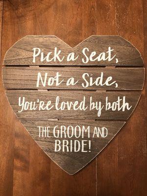 Wedding Sign for Sale in Morton, IL