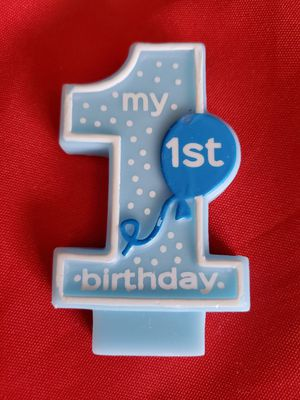 1st Birthday Candle for Sale in Waterford Township, MI
