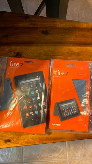 Kindle Fire Tablet 32gb w/Case - New for Sale in San Antonio, TX
