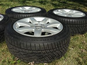 Mercedes staggered wheel and tire package for Sale in Des Plaines, IL
