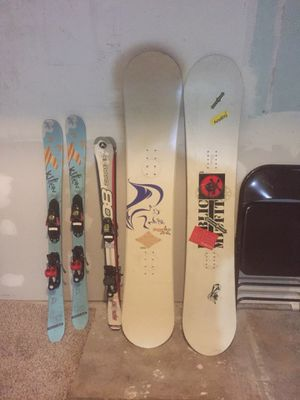 $50 for all! Snowboards and youth skis! for Sale in Colorado Springs, CO