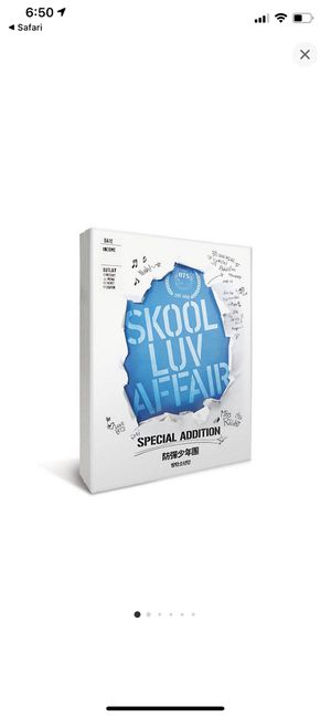 BTS Skool Luv Affair Special Edition for Sale in La Habra Heights, CA