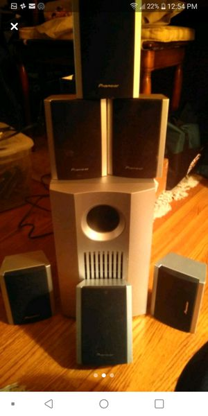 Pioneer speaker system for Sale in Commerce City, CO