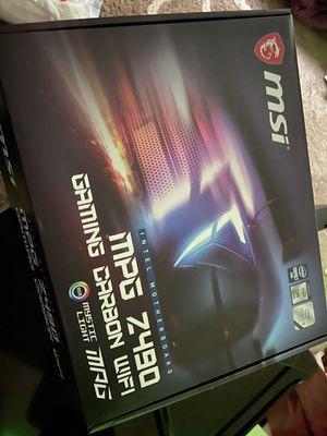 Msi Mpg Z490 Intel Motherboard for Sale in Virginia Beach, VA