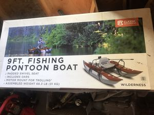 Pontoon fishing boat-manual (new in box) for Sale in Thornton, CO