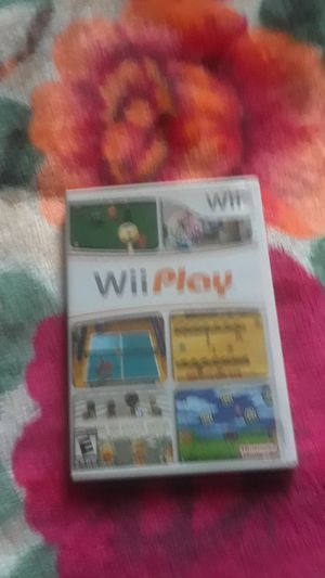 Wiiplay Game [LOCAL PICKUP ONLY] for Sale in Fairfax, VA