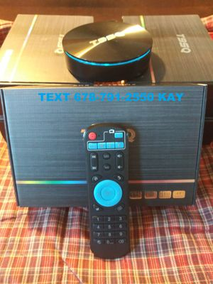 MEGA ANDROID 4K Ultra HDR BOX ] Twice as fast as the stick ] Pro setup TV Guide ] Strong enough to play games! for Sale in Conley, GA
