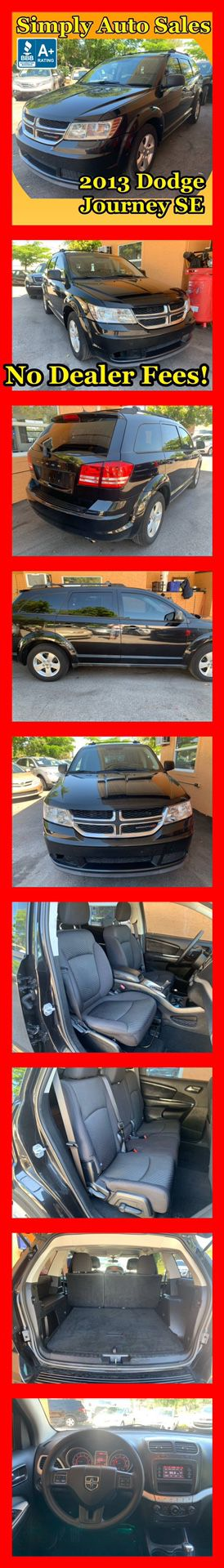 2013 Dodge Journey SE for Sale in Palm Beach Gardens, FL