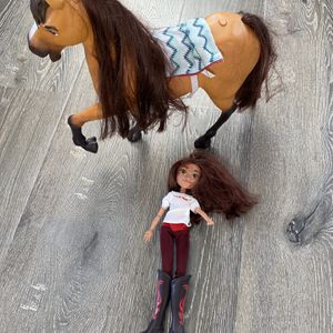 Spirit Horse Girls Toys Doll & Animated Spirit Horse. for Sale in Temecula, CA