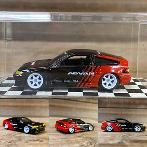 CUSTOM 1/64 Honda CRX - Johnny Lightning (Lowered + camber with upgraded premium 7-spoke wheels) for Sale in Orange, CA