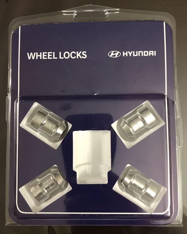 Wheel Lock Genuine U8440-00501 for Hyundai Elantra Sonata Azera Veloster