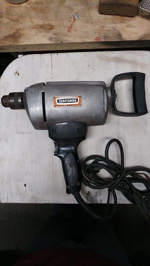 """Craftsman 1/2"""" Electric Drill for Sale in Emmaus, PA"""