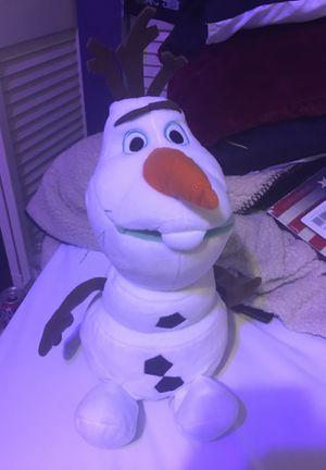 Olaf stuffed animal for Sale in Bonita Springs, FL