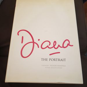 Princess Diana: The Portait Book Foreward: Nelson Mandela for Sale in Henderson, NV