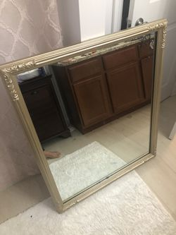 Great Wall mirror 33.5 x 39 for Sale in Boston,  MA