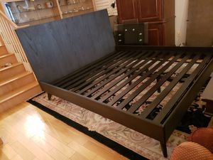 New King Bed Frame for Sale in Lynnwood, WA