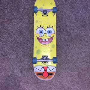 spongebob skateboard for Sale in Clearwater, KS