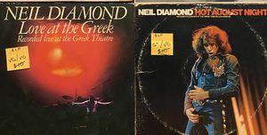 Neil Diamond Vinyl Records (Dbl LP's), $8 Each for Sale in Chino Hills, CA