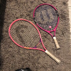 Wilson And Head Kids Tennis Rackets for Sale in Sacaton, AZ