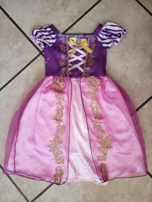 Rapunzel girl dress costume size 4 for Sale in Chicago, IL