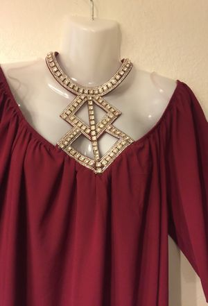Plus size Bling necklace Top for Sale in Arlington, TX