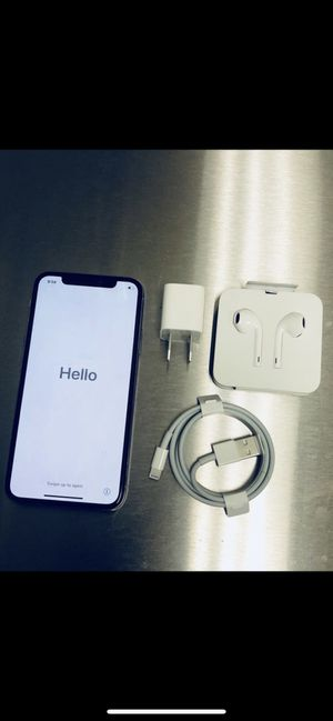 iPhone X 256gb Verizon for Sale in Fairfax, VA