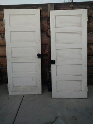 2 vintage doors for Sale in Santa Maria, CA