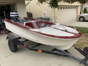 Boat Restored 1970 Roberts Mini Craft 10ft runabout boat for Sale in Chino Hills, CA