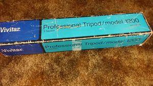 Tripod model 1200 vivitar 3 section for Sale in Rialto, CA
