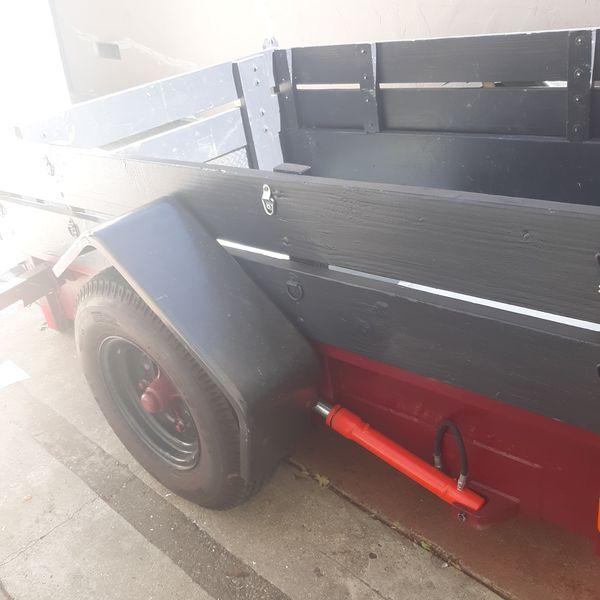 Super steel heavy duty trailer for sale tilt trailer