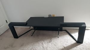 TV stand with glass shelf for Sale in Stockton, CA