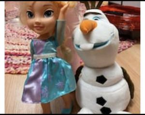 Elsa and Olaf for Sale in West Orange, NJ