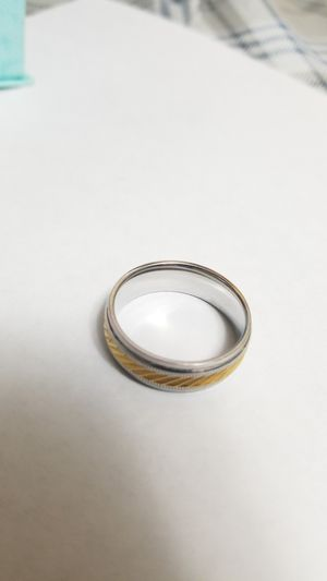 Men's stainless steel wedding ring for Sale in Alsip, IL