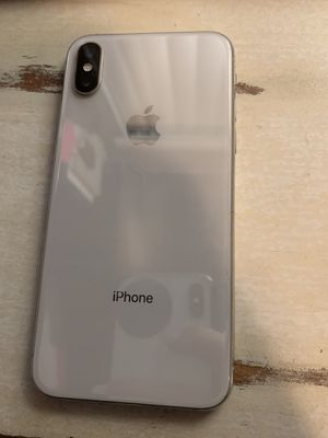 IPhone X 256gb factory unlocked for Sale in San Clemente, CA