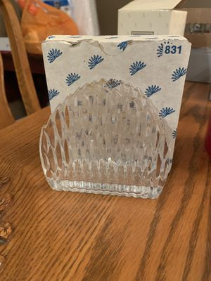 Princess house napkin holder for Sale in Placentia, CA
