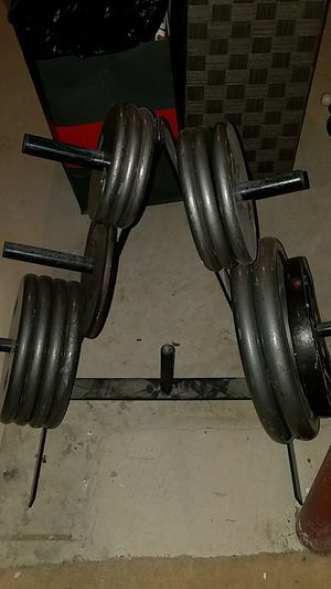 Barbell weights for Sale in UPR MARLBORO, MD