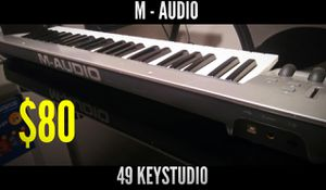 M Audio 49 Key Studio Keyboard Piano for Sale in Magna, UT
