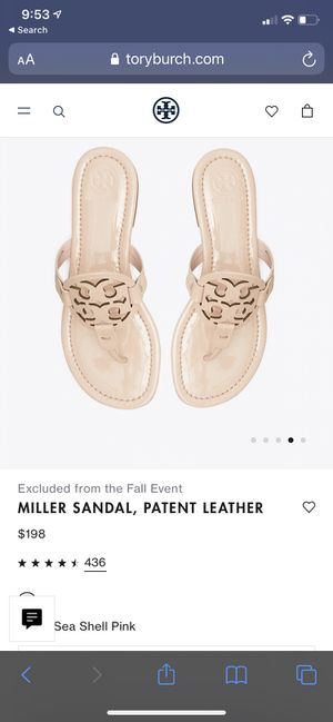 TORY BURCH MILLER SANDALS SIZE 7 for Sale in Fort Lauderdale, FL