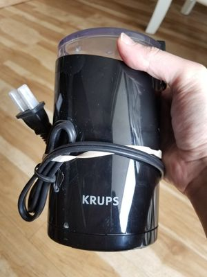 Krups coffee grinder (like new never used without box) for Sale in Austin, TX