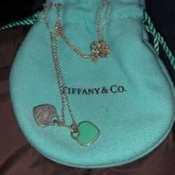 Tiffany Heart Necklace for Sale in Edgewood,  WA