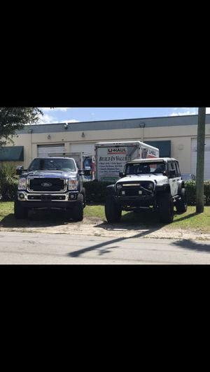 Ford - Jeep lift kit and tire and rim set and parts for Sale in FL, US
