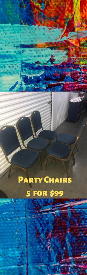Party, Dining chairs -5 for Sale in Los Angeles, CA