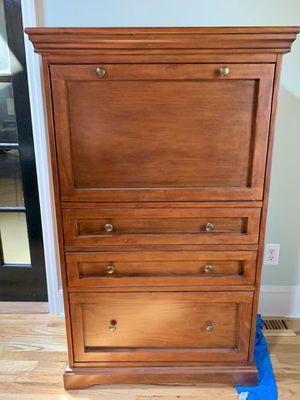 Beautiful Writing Filing Storage Cabinet Desk for Sale in Augusta, GA