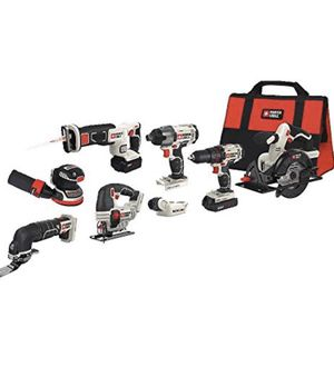 PORTER-CABLE 20V MAX Cordless Drill Combo Kit, 8-Tool (PCCK6118) for Sale in Irvine, CA