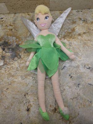 "Disney 22"" Tinkerbell Doll Plush for Sale in Gulfport, FL"