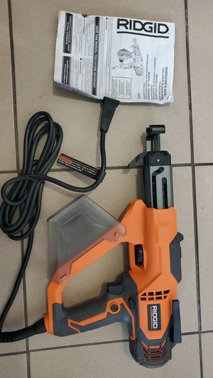 (RIDGID) FOR SALE RIDGID SCREW-DRIVER GUN FOR (DRYWALL) &(DECK) for Sale in Miami, FL