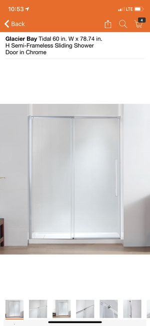 Glacier bay shower door for Sale in Phoenix, AZ