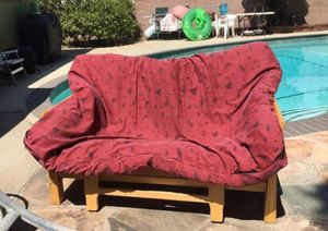 WOODEN FUTON BED for Sale in Alhambra, CA