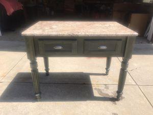 Kitchen Island with Granite Top for Sale in BRECKSVILLE, OH